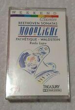 Beethoven Sonatas - Moonlight • Pathetique • Waldstein On Cassette 1988