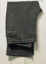 "Ladies Khaki Green Jeans Bootcut inside leg 30"" Brand New"