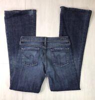 Citizens Of Humanity Womens Ingrid #002 Jeans Flare Low Waist Stretch Sz 26x33