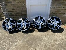 """GENUINE AMG MERCEDES C CLASS W204 S204 C204 17"""" SET OF 4 WHEELS  STAGGERED 06-13"""