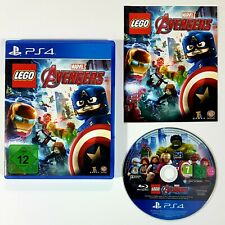 Playstation 4 LEGO MARVEL AVENGERS dt. PAL Ovp Ironman/Cpt. America/Hulk/Thor