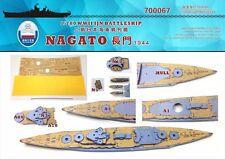 Chantier Naval 1/700 700067 Wood Deck IJN Nagato pour Aoshima