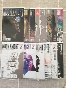 Moon Knight 1-14 NM 2016 Complete, Lemire, Smallwood, Marvel
