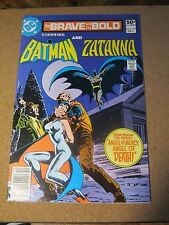 Brave and the Bold #169 December 1980 DC Batman and Zatanna Jim Aparo cover.   1