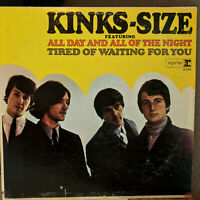 "THE KINKS - Kink Size (1965 Mono Press)(R-6158) 12"" Vinyl Record LP - VG+"