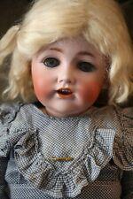 Antique Jdk 257 German Bisque Doll, 23 In, Antique Kestner German Bisque Doll