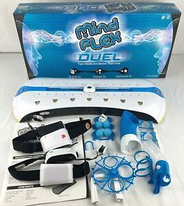 2010 Mattel Mind Flex Duel Mental Brainwave 1-2 Player Complete
