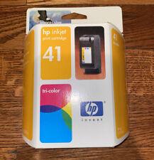 Genuine HP 41 Tri-Color Printer Cartridge. Hp Deskjet 820 850 855 870 1000 1100