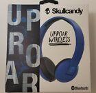 Skullcandy Uproar Wireless Bluetooth Headphones Royal Blue BRAND NEW SEALED