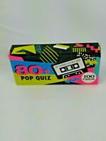 Bell & Curfew 80's Pop Music Quiz 100 Cards New & Unopened 2018 Great 4 Downtime