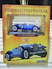 2006 Matchbox Models of YESTERYEAR 1931 STUTZ BEARCAT New Mint in New Mint Box