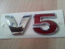 VW,V5,V 5,Come,Golf,Bora,Passat,Beetle,Seat,Toledo,2,3,Neu,Emblem,Schriftzug