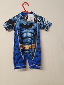 Bnwt Next Boys BATMAN Sun Suit Swim Age 9-12 months