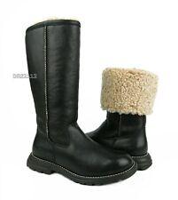 UGG Australia Brooks Tall Black Leather Boots Womens Size 7 *NIB*