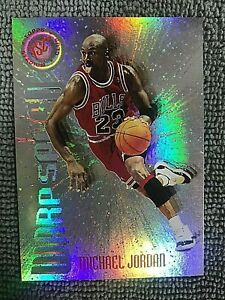 1995-96 Stadium Club Warp Speed #WS1 Michael Jordan