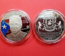 ALEJANDRO GARCIA PADILLA Gobernador PUERTO RICO Coamo PARTIDO POPULAR PPD Medal