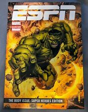 ESPN The Body Issue: Super Heroes Edition Comic Book 2015 Marvel Hulk SDCC