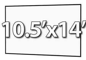 DA-LITE 90822 - FAST-FOLD DELUXE 10.5'x14' REPLACEMENT SURFACE -DA-TEX REAR PROJ