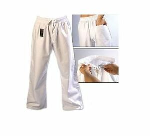 ProForce Combat Karate PANTS SALE! Martial Arts Taekwondo Training Uniform WHITE