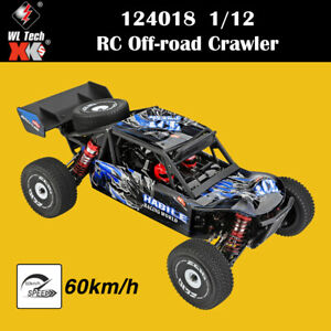 Wltoys 124018 1/12 RC Car 2.4G 4WD 60Km/h High Speed Off-road Crawler RTR RC Car