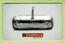CHIPOTLE Birthday Burrito 2011 Gift Card ( $0 )