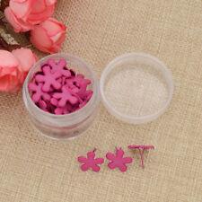 Flower Scrapbooking Brads Home Embellishment Gemstone Crafts Wedding Supplies