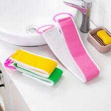 Bathroom Bath Towel Rub Brush Pull Back Strip Scrubber Exfoliating Scrub Tool