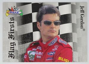 Jeff Gordon 1997 97 Maxx Flag Firsts Insert Card #FF24 Charlotte 1994 1st Win