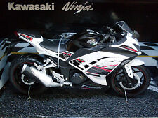 Kawasaki Ninja weiß/schwarz Automaxx Motorrad Modell 1:12, Art.6053/1