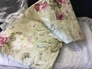 """Gorgeous NEW Dunelm Floral Curtain ONE CURTAIN  ONLY Lined 90"""" Wide 54"""" Drop"""