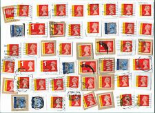 UK High Value Signed For & Special Delivery used stamps x 50 (Batch 1)
