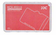 Speicherkartenetui f 10x Micro SD Speicherkarten Rot