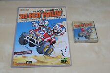 3D HOT RALLY HANDBILL + GAME * * Brand NEW * * Famicom Disk System Japan nes art