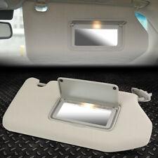 Grey OE Style Interior Left Driver Sun Visor Sunshade Replacement for Pathfinder//Infiniti 13-19