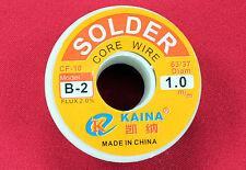 Rosin Core Flux Solder Soldering Wire Reel 100g/3.5oz FLUX 2.0% 1mm