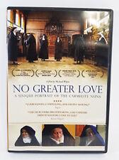 No Greater Love: A Unique Portrait of the Carmelite Nuns (DVD, 2010) Like New