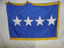 flag01 Us Air Force 4 Star General flag gold fringe 3 x 4 current W13T