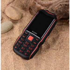 Rugged Outdoor Mobile Phone Long Standby Power Bank Vibration Bluetooth Dual