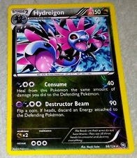 RARE 2012 POKEMON HOLO FOIL CARD 98/124 HYDREIGON SHATTERED DRAGONS EXALTED