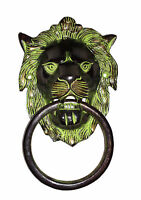 An Attractive brass made A Beautiful LION FACE designed DOOR KNOCKER from INDIA