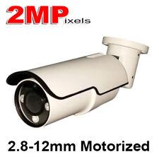 2MP 1080P HD-TVI CVI CVBS AHD Motorized Night vision IR Bullet Camera 2.8-12mm