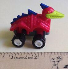 Dino Dinosaur Crawler 1994 Burger King Toy car Wind Up Red pterodactyl