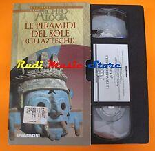 film VHS I SEGRETI DELL'ARCHEOLOGIA LE PIRAMIDI DEL SOLE ATZECHI  (F30)  no dvd