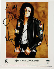 MICHAEL JACKSON - SIGNED 10X8 PHOTO, GREAT STUDIO IMAGE, LOOKS GREAT FRAMED