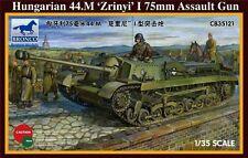 Bronco 1/35 35121 húngara 44. M zrinyi me 75 Mm Assault Gun