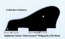 "CASINO ""John Lennon"" 5-Ply Blk B/W/B/W/B Pickguard for Epiphone Guitar Project"