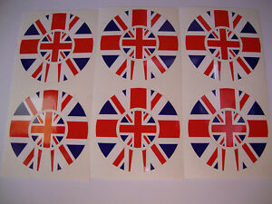 16 NEW CROWN GREEN BOWLS  STICKERS  UNION JACK 8 FINGER + 8 THUMB LAWN BOWLS