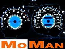 Mitsubishi 3000GT glow gauges plasma dials tacho glow dash shift indicators GTO
