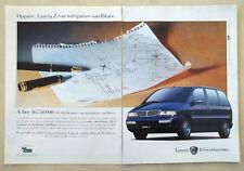 B454-Advertising Pubblicità-1999 - LANCIA Z CON NAVIGATORE SATELLITARE