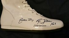 ric flair signed wrestling boots